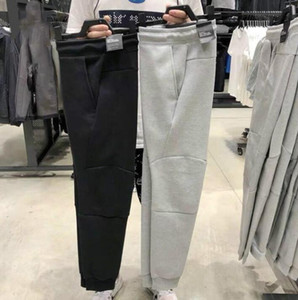 European American style Tech Fleece Sport Pants Space Cotton Trousers Men Tracksuit Bottoms Mens Joggers Tech Fleece Camo Running pants