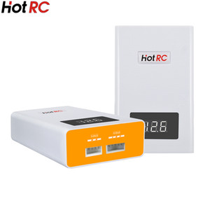 Wholesale battery 14.8v resale online - HOTRC S S model aircraft Lithium battery Quick Charger V V with power display balance charge