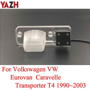 Wholesale vw transporter resale online - Car Parking Reverse Backup Camera For Volkswagen VW Eurovan Caravelle Transporter T4 GPS RearView Camera Night Vision