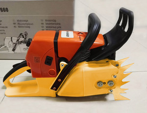 Wholesale chainsaws for sale - Group buy MS660 Professional Chainsaw with quot high quality alloy Bar sawchain Fast cutting big power saw CC
