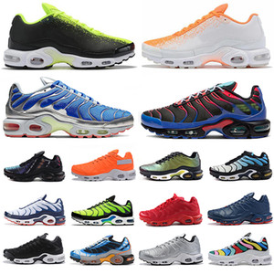 2020 New Parachute Tn Plus SE mens running shoes triple black white Throwback Future Psychic Blue Arctic Chill women trainers sport sneakers