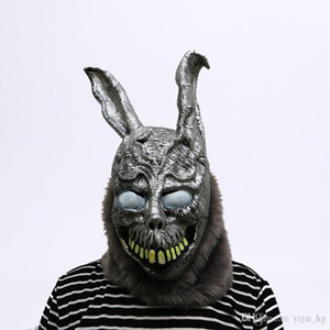 ingrosso donnie darko maschera-Animal Cartoon Coniglio Maschera Donnie Darko FRANK The Bunny costume cosplay Halloween Party Supplies Spaventoso Mask