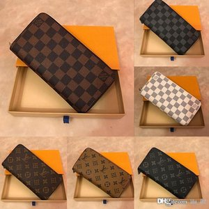 ZIPPY WALLET VERTICAL the most stylish way to carry around money cards and coins famous design men leather purse card holder long busines