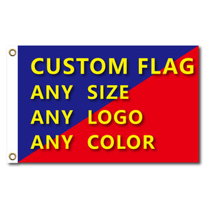Wholesale banner graphics resale online - Flags And Banners Graphic Custom Printed Flag With Shaft Cover Brass Grommets Free Design Outdoor Advertising Banner Decoration