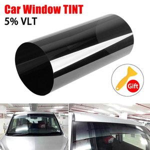 Wholesale auto side window sun shades resale online - 150 cm Car Window Tint Sun Shade Auto Solar Film for Windscreen Side Windshield Car Curtains Tinting Film Sun Protector L15