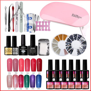 Wholesale polish products resale online - Nail Art Tool Set Nail Tools Professional Lamp Polish Clippers Drill Remover Professional Products