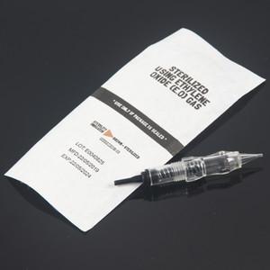 50 pcs High Quality 1R 3R 5R 5F 7F 0.18MM Cartridge Needle for Micropigmentation Device Permanent Makeup Machine CX200805