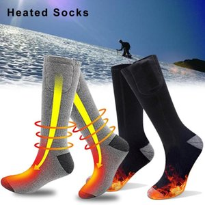 Wholesale heated socks for sale - Group buy Remote Control Electric Heated Socks with Rechargeable Battery for Chronically Cold Feet Large Size USB Charging Heating Socks
