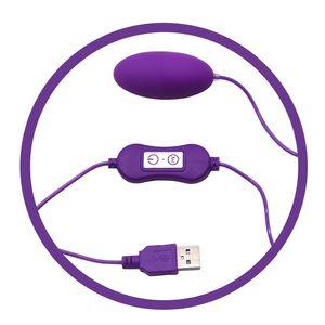 Adjustable Speed USB Powerful Vibrating Egg Female Masturbation Sex Products Adult toys for Women