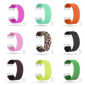 Wholesale kinds watches resale online - Elastic Cord Printing Nylon Straps Hair Kind Bands Smart Watch Wearable Replaceable Watchband Suitable for Fitbit Versa Versa Lite Wristband