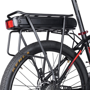 Wholesale electric bicycle battery rack for sale - Group buy Electric Bike V Ah Ah V Ah Rear Rack Battery Pack For Big Capacity e Bike Cell Luggage Rack Bicycle Charger