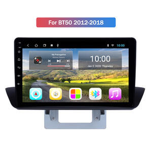 mazda-zoll-touchscreen großhandel-10 Zoll Touch Screen Android Autoradio Bluetooth Wifi GPS Navigation für Mazda BT50 Unterstützung Spiegel Link FM
