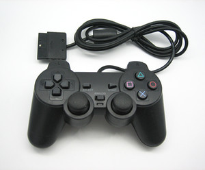 joysticks ps2 großhandel-Hot PS2 Wired Controller Gamepad Manette für PlayStation Dualshock Joystick Control Mando Game Controller Konsole