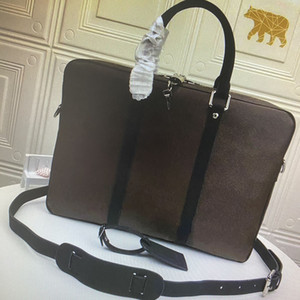 M52005 N41466 PM Small Briefcases PORTE-DOCUMENTS VOYAGE Briefcase Business Men Shoulder Laptop Bag Totes Handbag Computer Bags Duffel Bag