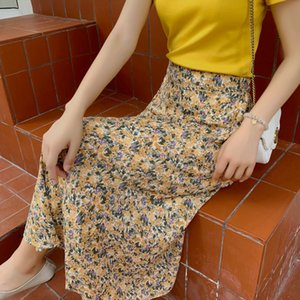 Wholesale style line slimming resale online - 2020 New Summe Skirts Womens Casual Slim fit A Line Skirt High Waist Skirt Kawaii Sexy Print Harajuku Style