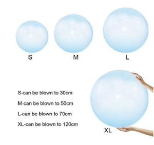 Wholesale children inflatable balloon for sale - Group buy Children wubble bubble ball Outdoor Air Water Filled Bubble Ball Blow Up Balloon Toy Fun Party Game Summer Gift for Kids Inflatable Gift