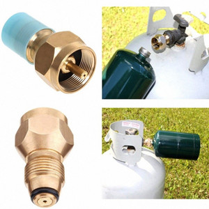 Wholesale propane tank resale online - Universal Hiking And Camping Camping Hiking Safety Propane Refill Adapter For Lb Cylinder Tank Coupler Heater Bottle Solid Brass Re VYBV