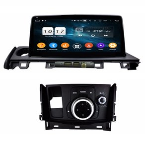 "4gb+64gb PX6 DSP 10.25"" Android 9.0 Car DVD Radio GPS Head Unit for Mazda 6 2017 2018 Bluetooth 5.0 WIFI USB Mirror-link CarPlay"