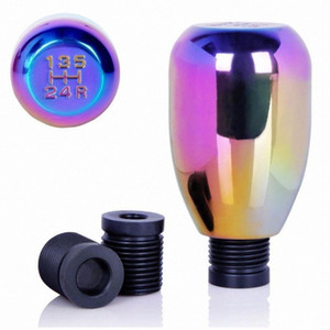 Wholesale race manual resale online - Short Universal Aluminum Automotive Fantasy Manual Stick Shift Knob Head Gear Accessories Racing Sport Cover Handle cbCx