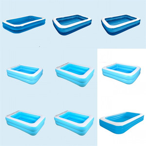 Wholesale backyard pools for sale - Group buy Inflatable Swimming Pool Accessories Above Ground Swimming Pools Inflated Inflatable Outdoor Swim Pond Court yard Backyard Shower jl C2