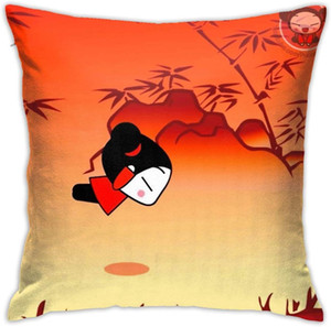 N A Home Gift Pillow Sofa Cushion Pucca Funny Love Couple party decoration 18X18inch(45CMX45CM)