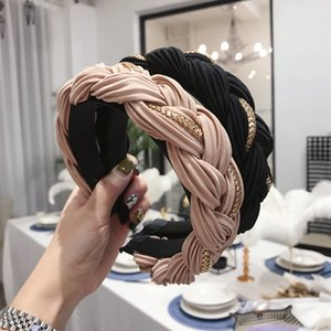 Wholesale making hair bands resale online - Night Club Party Women Headband Simple Fashion Girls Make Up Hairband Outdoor Sport Casual Yoga Hair Bands