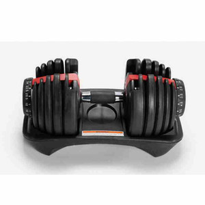 Adjustable Dumbbell 2.5-24kg Fitness Workouts Dumbbells Weights Build Your Muscles Sports Fitness Supplies Equipment ZZA2538 Sea Shipping