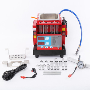 Wholesale fuel injector cleaners resale online - New Original MST Cylinder Car Ultrasonic cleaning Machine Fuel Injector tester and Cleaner for Motorcycle and Gasoline Car