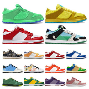 Wholesale colors plum resale online - 2020 New dunk chunky dunky low men women running shoes Bears Green Opti Yellow ACG Terra Champ Colors trainers sports sneake