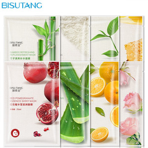 Wholesale skin sheets for sale - Group buy BISUTANG Fruit Plant Facial Mask Moisturizing Face Skin Care Oil Control Mask Sheet Hydrating Facial Masks
