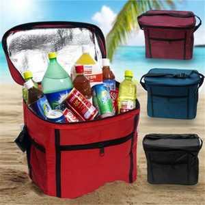 Wholesale store cloth resale online - Drink Meal Pack Family Outdoor Picnic Bag Use Storing Fresh Oxford Cloth Ice Pack Takeaway Container Insulation Storage Bag DH0481