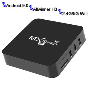 ingrosso costruire tv-Android TV Box GB GB MXQ Pro Allwinner H3 Android N Beta Build Quad Core M Lan G G WiFi Dual Band K VP9 HDR10