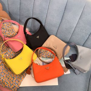 Best selling reedition 2000 Nylon Canvas leather crossbody bag purses messenger bag Designer pink lady Tote shoulder bags for women hobo bag