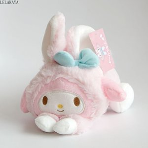 Wholesale my melody resale online - Cute My Melody Big Ear Cinnamoroll Pudding Dog Egg Yolk Frog Little Twin Stars Turned To Cat Rabbit Soft Plush Toys Cosplay Doll MX200716