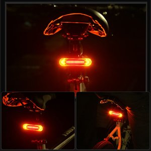 Wholesale bicycles light for sale - Group buy New Bicycle Light LED USB Rechargeable TailLight Warning Bike Rear Lights Smart Wireless Remote Control Turn Signal Light