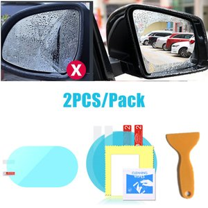 Wholesale stickers for car side mirror resale online - Antifog Film Mirror Anti Rain Sticker On The Mirror Rain Film Foil On The Side Anti rain For Car Mirrors