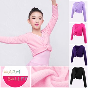 Wholesale thick girls for sale - Group buy New Autumn Winter Cotton Long Sleeve Thick Overall Girls Kids Children Warm Velvet Coat High Waist Ballet Dance Outwear