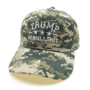 Wholesale army camo hat for sale - Group buy New Trump Camouflage Hat Baseball Cap Trump MAGA Camo Embroidered Hat Keep Make America Great Again Cap IIA399