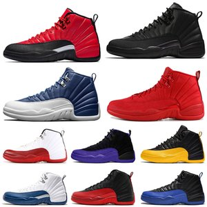 Wholesale royal blue shoes size 12 for sale - Group buy Jumpman Stone Blue Mens s basketball shoes Reverse Flu Game Dark Concord Game Royal sports mens trainers sneakers size