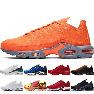 Wholesale 3d painting for sale - Group buy Classic Running shoes se TN plus for mens Total Orange Deluxe D Glasses White Crimson Total Crimson Volt Spray Paint womens runner shoes