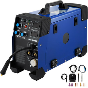 Wholesale welding machines for sale - Group buy 5 in MIG MAG TIG FLUX MMA Inverter Welder Amp Combo Welding Machine Spot Welder