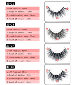 Wholesale layers hair styles resale online - Mink Hair lashes Big D Styles Multi layer Manual Real Mink Lashes Extension D Mink lash Beauty MM D Eyelashes