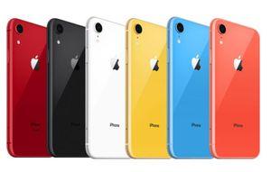 Refurbished Original Apple iPhone XR no face id Unlocked Cell Phone 64GB 128GB IOS 13 6.1 inch 4G Lte