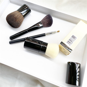 CC Retractable Kabuki Brush   Petit Pinceau Kabuki   Angled Contouring Brush - Quality Blush Powder Foundation Makeup Brushes