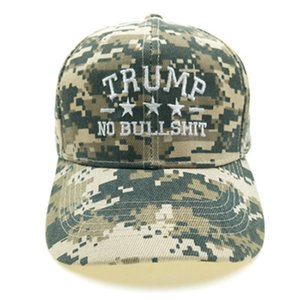 Wholesale maga hats resale online - New Trump Camouflage Hat Baseball Cap Trump MAGA Camo Embroidered Hat Keep Make America Great Again Cap IIA399