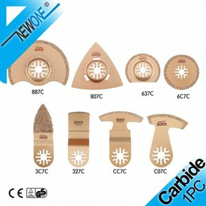 Wholesale fein multi resale online - NEWONE Carbide Oscillating Saw Blade Accessories in Electric Power Timmer Saw Blade Fein Multi tool Renovator for tile adhesive p3FW