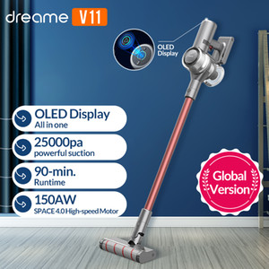 Wholesale flooring carpets for sale - Group buy Dreame V11 Handheld Wireless Vacuum Cleaner OLED Display Portable Cordless kPa All in one Dust Collector floor Carpet Cleaner