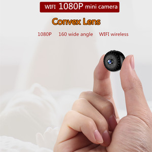 HiLEME 1080P Mini Camera WIFI Roud Super Small 1080P Hot Selling Wireless Camcorder with Motion Detection Function by APP Remote Control