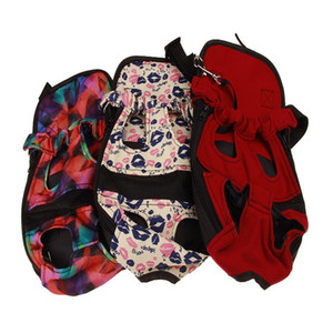 Wholesale dog carrier backpacks resale online - Pet Carrier Zipper Dog Carriers Portable Flexible Go Out Lip Print Rucksack Ventilation Stretch Legs Dogs Backpack Camouflage dk C2