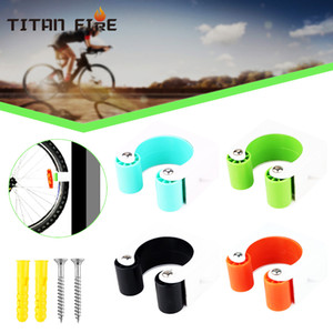 Portable MTB Bike Parking Buckle Wall Mounted Hook Bicycle Display Rack Cycling Stand Car Truck Racks